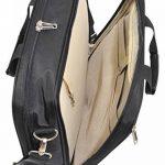 18092/47 Savebag - Bagage à Main 47 cm porte-ordi. 17'3 - Noir - Cap.20 Litres de la marque Savebag image 1 produit