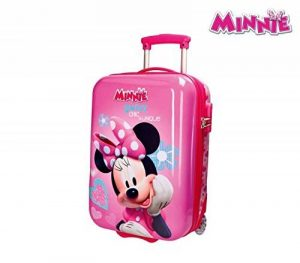 2890351 Valise rigide ABS MINNIE MOUSE 31 x 50 x 20 cm. MEDIA WAVE store ® de la marque Minnie image 0 produit
