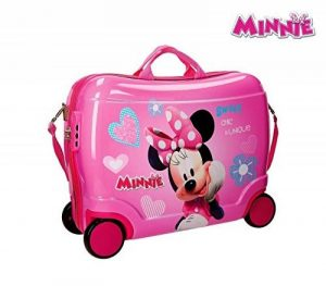 2899951 Valise chevauchable rigide Minnie Mouse 50x39x20cm. MEDIA WAVE store ® de la marque Minnie image 0 produit