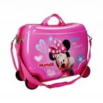 2899951 Valise chevauchable rigide Minnie Mouse 50x39x20cm. MEDIA WAVE store ® de la marque Minnie image 1 produit