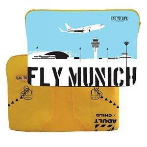 'Bag to Life Sacoche pour ordinateur portable 15Mac Fly Munich de gilet de sauvetage–ehrensache de la marque Life in a Bag image 0 produit