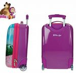 4731151 Valise chariot, bagage cabine ABS MASHA ET L'OURS 48X30X18 cm de la marque MEDIA WAVE store ® image 1 produit