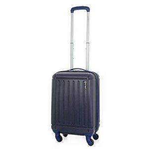 5 Cities ABS Bagage Cabine à Main Valise Rigide Léger 4 Roulettes, approuvées pour Ryanair, Easyjet, Air France, Flybe, Jet2, Monarch et Plus de la marque 5 Cities image 0 produit