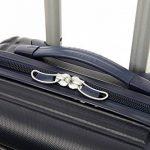 5 Cities ABS Bagage Cabine à Main Valise Rigide Léger 4 Roulettes, approuvées pour Ryanair, Easyjet, Air France, Flybe, Jet2, Monarch et Plus de la marque 5 Cities image 5 produit