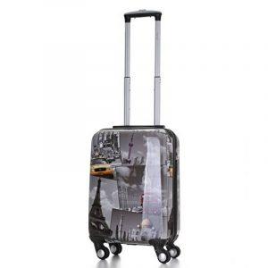 5 Cities Bagage Cabine Bagage à Main Valise Polycarbonate Rigide à 4 Roulettes , Approuvées pour Ryanair , Easyjet , Air France , Lufthansa , Jet2 et Plus de la marque 5 Cities image 0 produit