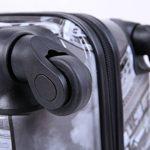 5 Cities Bagage Cabine Bagage à Main Valise Polycarbonate Rigide à 4 Roulettes , Approuvées pour Ryanair , Easyjet , Air France , Lufthansa , Jet2 et Plus de la marque 5 Cities image 1 produit