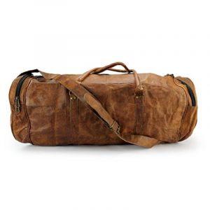 A.P. Donovan - Sac de sport en cuir, aussi pour Voyage, le camping, la formation, de remise en forme, compagnon,bagages à main, pour les hommes de la marque A.P. Donovan image 0 produit
