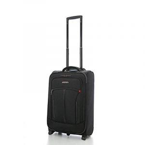 """Aerolite 21"""" Bagage Cabine avec poche pour ordinateur portable - Approuvé pour Air France, KLM, Easyjet & BA, Noir de la marque Aerolite image 0 produit"""