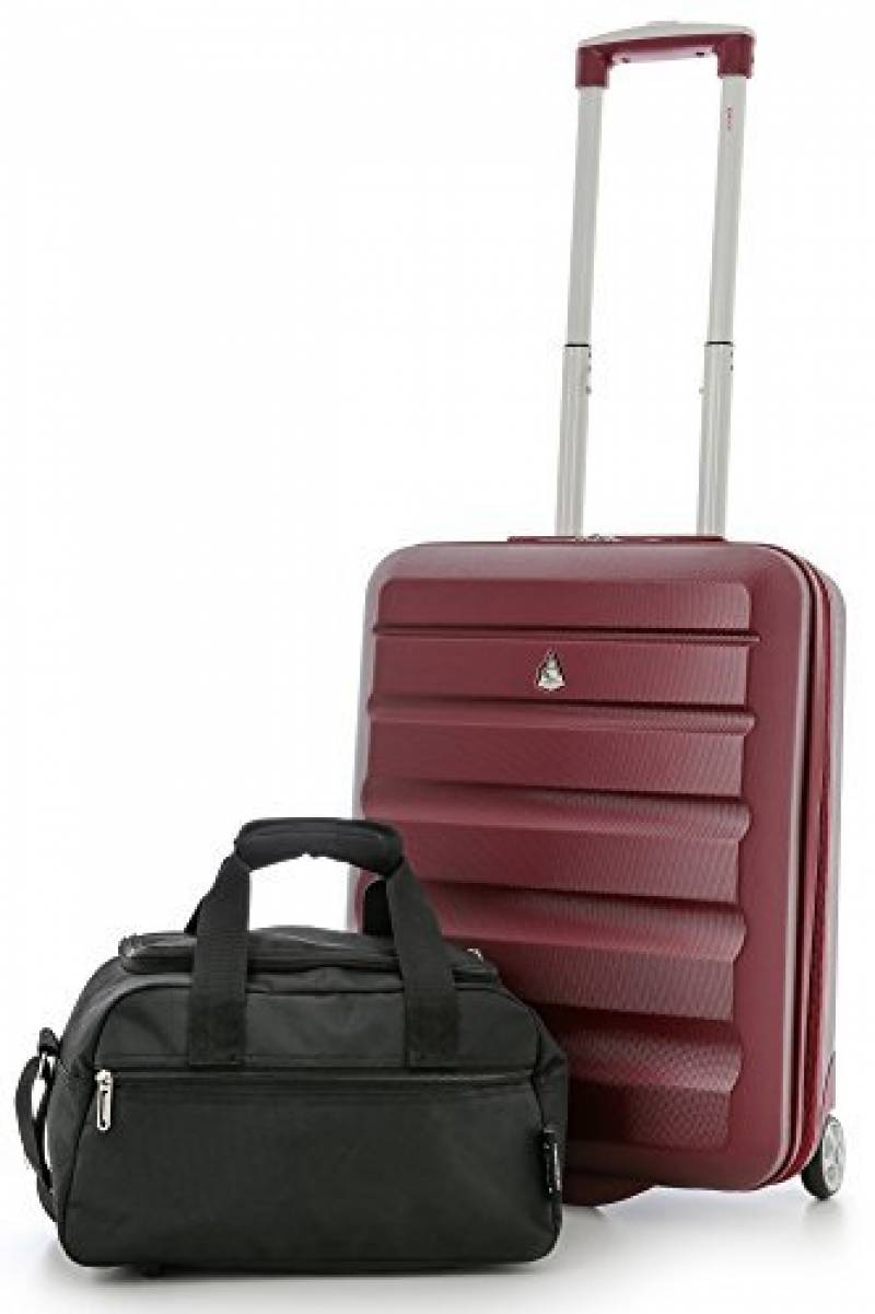 ABS Lumière rigide cabine main /& Hold bagage voyage case valise sac bagages
