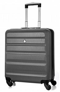 Aerolite 56x45x25cm léger Easyjet et British Airways BA Cabin Maximum Allocation Shell dur Voyage bagages à main Spinner Valise avec 4 Roues 22in, 41L de la marque Aerolite image 0 produit