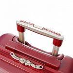 Aerolite ABS Bagage Cabine à Main Valise Rigide Léger 4 Roulettes de la marque Aerolite image 3 produit