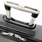 Aerolite ABS Bagage Cabine à Main Valise Rigide Léger 4 Roulettes de la marque Aerolite image 5 produit
