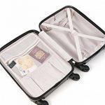 Aerolite ABS Bagage Cabine à Main Valise Rigide Léger 4 Roulettes de la marque Aerolite image 6 produit