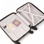 Aerolite ABS Bagage Cabine à Main Valise Rigide Léger 4 Roulettes, Set de 2 de la marque Aerolite image 1 produit