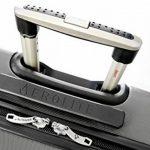 Aerolite ABS Bagage Cabine à Main Valise Rigide Léger 4 Roulettes, Set de 2 de la marque Aerolite image 5 produit