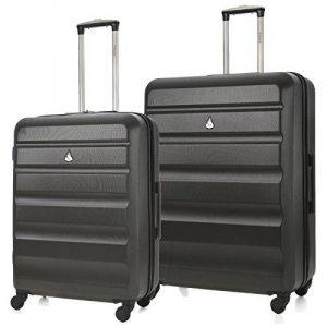 Aerolite ABS Valise Rigide Léger 4 Roulettes Set de Bagages 3 Pièce de la marque Aerolite image 0 produit