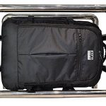Aerolite Max Sac à dos Bagage à main de cabine approuvé Ryanair Noir 55x40x20cm de la marque AEROLITE image 4 produit