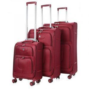 Aerolite super léger 8 Wheel Spinner bagages Valise Cases Voyage Trolley de la marque Aerolite image 0 produit