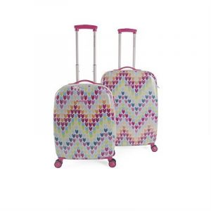 AGATHA RUIZ DE LA PRADA - Set 2 valises - polycarbonate- de la marque AGATHA RUIZ DE LA PRADA image 0 produit