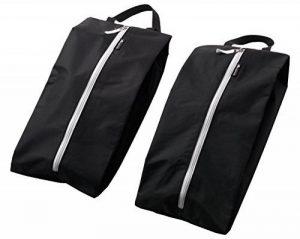 ALPAMAYO® Sacs à chaussure, ensemble de 2 sacs étanches, Sacs de rangement chaussures sales, protection de vêtements pendant voyage, pour sacs, valises, bagages à main, noir de la marque Alpamayo image 0 produit