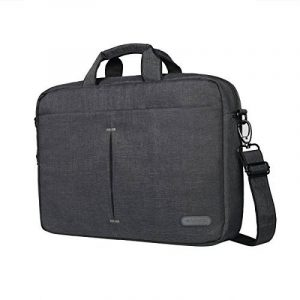 Arvok 15.6 Pouces Sac à Bandoulière, Sacoche/Besaces/Serviettes pour Ordinateur Portable/Tablette Résistant à l'eau Toile Sleeve Porte-documents pour MacBook Air / MacBook Pro Retina / HP / Dell / Samsung / Toshiba / Sony / Acer / ASUS / Lenovo housse image 0 produit