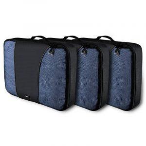 Arvok Organiseurs de Bagage Lot de 3 Sacoches de Rangement pour Voyage Valise Bagages Noir de la marque ARVOK image 0 produit
