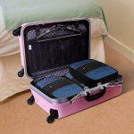 Arvok Organiseurs de Bagage Lot de 3 Sacoches de Rangement pour Voyage Valise Bagages Noir de la marque ARVOK image 4 produit