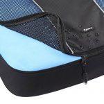 Arvok Organiseurs de Bagage Lot de 3 Sacoches de Rangement pour Voyage Valise Bagages Noir de la marque ARVOK image 6 produit
