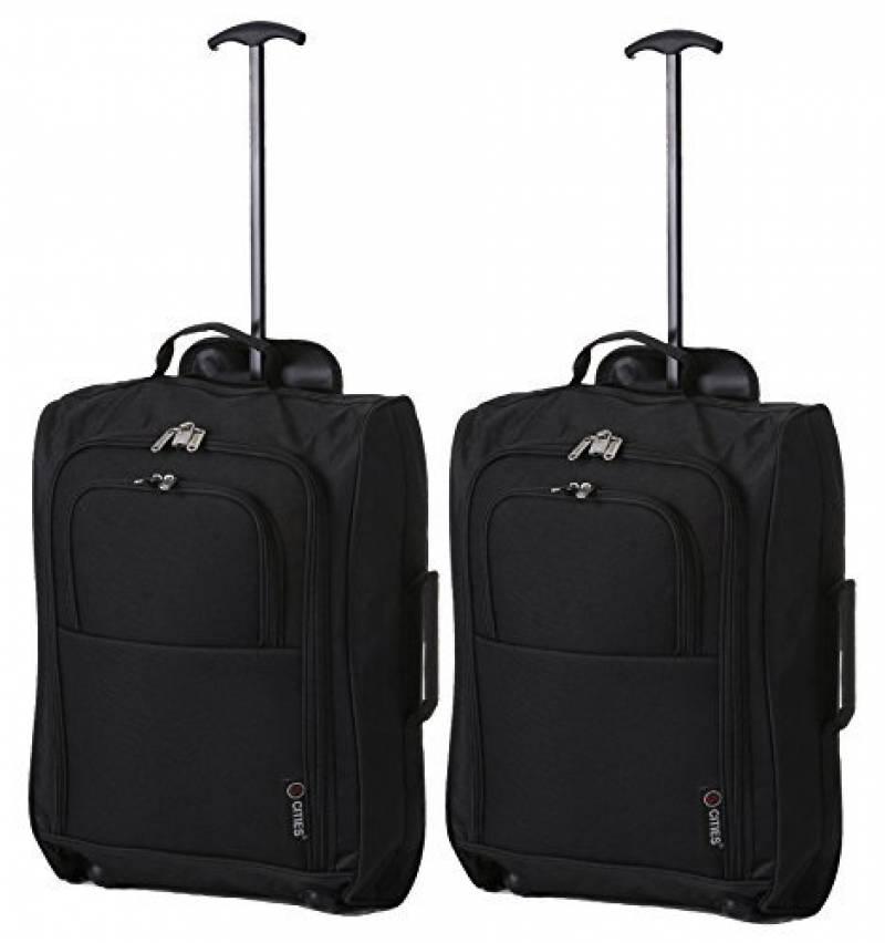 Cabin Max Marseille à roues HOLDALL sac de cabine valise-bagage cabine 55x35x20