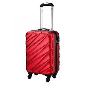 Bagage Cabin Max Tuscany Ultra Léger 2.4kg ABS Coque Solide Voyage Transport Bagage Cabine Bagage à Main Valise à 4 Roulettes, Autorisée par Ryanair, Easyjet, et Bien d'Autres de la marque Cabin Max image 0 produit
