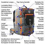 Bagage cabine sac à dos - le top 9 TOP 2 image 1 produit