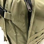 Bagage Cabine/ Sac à Dos MOLLE. 44L Bagage à Main Militaire Tactique 55 x 40 x20cm de la marque Cabin Max image 3 produit