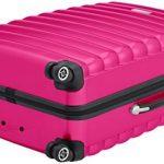 Bagages Zone côtelée Coque rigide 3pièces Valises, S/M/L, Nombre, droite, serrure, garantie 3ans de la marque Luggagezone image 3 produit