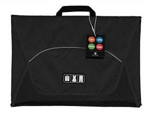 BAGSMART Housse de Chemise Pack-it Folder Housse à Vêtement pour Voyage Organisateur de Sac Noir de la marque BAGSMART image 0 produit