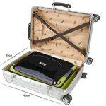 BAGSMART Housse de Chemise Pack-it Folder Housse à Vêtement pour Voyage Organisateur de Sac Noir de la marque BAGSMART image 6 produit