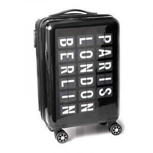 Balvi-valiseAirporttrolleyavecdimensionsbagageàmain.Faitdeplastiquedur-ABS.Avec4roulettes. de la marque Balvi image 0 produit