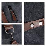 BAOSHA HB-14 ÉNORME élégant Sac de Voyage Week-end Sac de Sport en toile et PU cuir de la marque BAOSHA image 6 produit