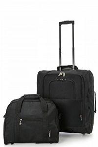 British Airways Maximales 56x45x25cm Trolley & 40x30x15cm Deuxième Sac de Transport - Emmenez les deux ! de la marque 5 Cities image 0 produit