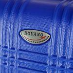 BRUBAKER Valise 61 cm - Trolley en ABS ultra Léger - 4 roues 360° - Extensible - Bleu de la marque Brubaker image 2 produit