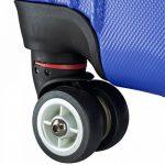 BRUBAKER Valise 61 cm - Trolley en ABS ultra Léger - 4 roues 360° - Extensible - Bleu de la marque Brubaker image 3 produit