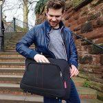 Cabin Max Budapest | Conçu pour respecter les limites pour les bagages de cabines Gratuits imposées par Wizz Air (Noir) de la marque Cabin Max image 2 produit