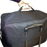 Cabin Max Budapest | Conçu pour respecter les limites pour les bagages de cabines Gratuits imposées par Wizz Air (Noir) de la marque Cabin Max image 6 produit