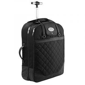 Cabin Max Monaco carrier robe bagage main valise 55x40x20cm. Parfait pour les vols Ryanair et easyJet de la marque Cabin Max image 0 produit