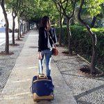 Cabin Max Monaco carrier robe bagage main valise 55x40x20cm. Parfait pour les vols Ryanair et easyJet de la marque Cabin Max image 3 produit