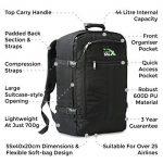 Cabin Max Sac à dos bagage à mains pour cabine 55x40x20cm 44l de la marque Cabin Max image 4 produit