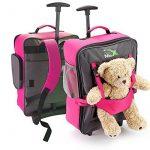 Cabin Max - Sac à roulettes pour enfant et pour son ours en peluche… de la marque Cabin Max image 4 produit