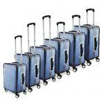 """Cablematic - Couvertures de valise imperméable de voyage housse protection 26"""" sac 44x30x60cm de la marque cablematic.fr image 2 produit"""