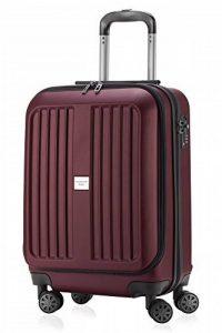 Capitale série xberg Bourgogne Valise avec combinaison TSA Mat 55cm + petite poche Culture de Reisenthel de la marque Haupstadtkoffer image 0 produit