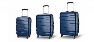 Carlton Baggage Set of 3 ou Simple Valises - Sac Trolley Ensembles ou simple valises CAYENNE - Spinner 4 Roues Valise main de inc Bagages Taille S 55cmx38x21, M 65cm, L 75cm de la marque Roamlite image 0 produit
