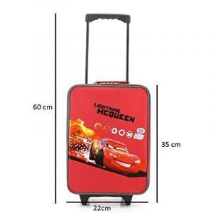 Cars lightning mcQueen wGP original kofferwagen valise à roulettes cars pochette verte 1 l de vacances, 2 nouveau, 3 de la marque Disney image 0 produit